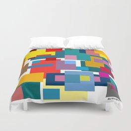 Color Blocks #4 Duvet Cover