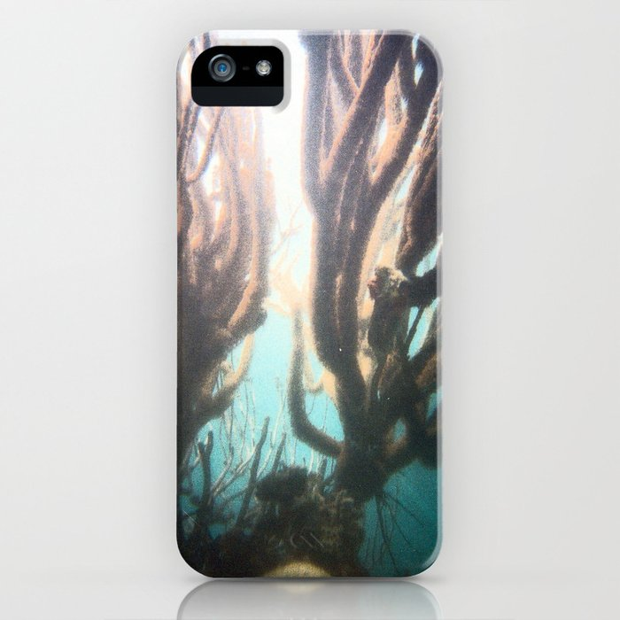 Deep Blue Reef iPhone Case
