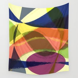 Abstract #465 Wall Tapestry
