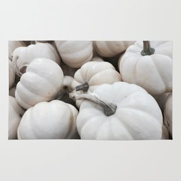 White Autumn Rug
