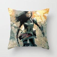 jane foster Throw Pillow