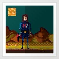 8bit Art Prints featuring 8bit sequal? by pixel.pwn | AK