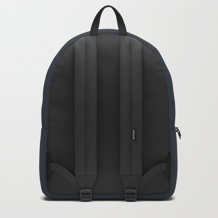 Soft Blue Gradient Cubes Backpack