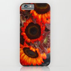 Sunflower Fire iPhone 6s Slim Case
