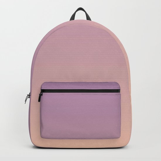 Sunset Gradient Purple Pink Peach Coral Backpack