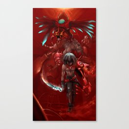 Bugged Canvas Print