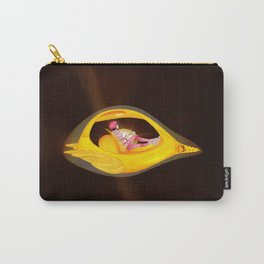 Time Barney girl and airship Carry-All Pouch