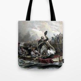 Washington's Adieu To His Generals Tote Bag