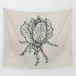 Spider lettuce by Piki Wall Tapestry