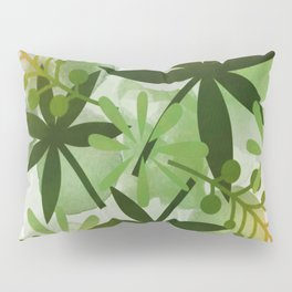 Peaches and Greens Pillow Sham