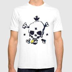 XXX Skull C Mens Fitted Tee White MEDIUM