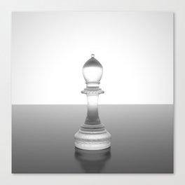 chess bishop Canvas Print