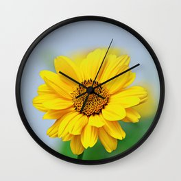 Raw Like A Sun Wall Clock