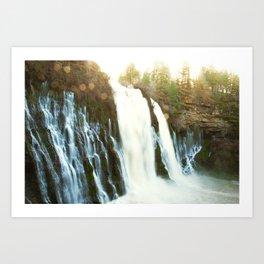 Waterfall of Dreams Art Print