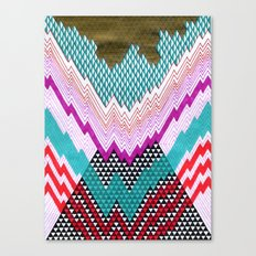 Isometric Harlequin #5 Canvas Print