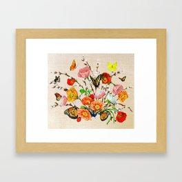 Butterfly Bouquet  Framed Art Print