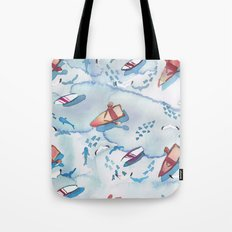 Shallow Water Tote Bag