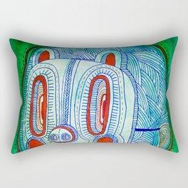 Pigmask Rectangular Pillow