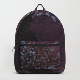 Rough purple wall Backpack
