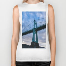 St. Johns Bridge, Gothic Tower Biker Tank