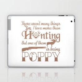 Hunting Poppy Laptop & iPad Skin