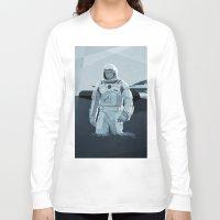 interstellar Long Sleeve T-shirts featuring Interstellar by ANDRESZEN