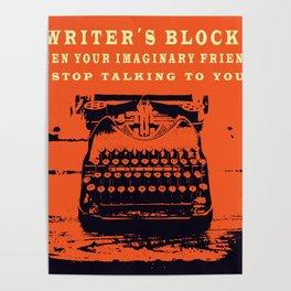 Writer´s Block Poster