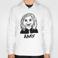 amy poehler Hoodies featuring Amy Poehler by Flash Goat Industries