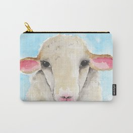 Little Lambs Eat Ivy Carry-All Pouch
