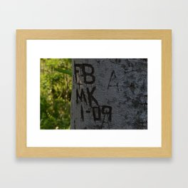 Young Old Love Framed Art Print