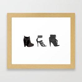 Rock Goddess Framed Art Print