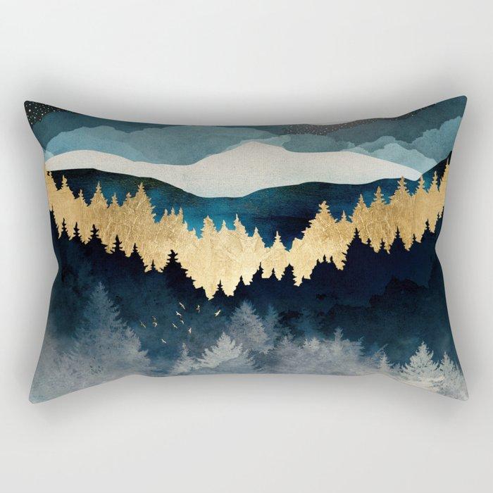 Indigo Night Rectangular Pillow