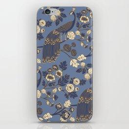 Peacock Garden {Eastern Blue} iPhone Skin