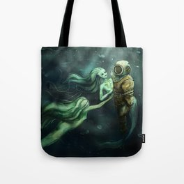 Watery Grave Tote Bag