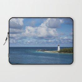 distant lighthouse Laptop Sleeve