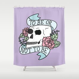 That is the Question Shower Curtain
