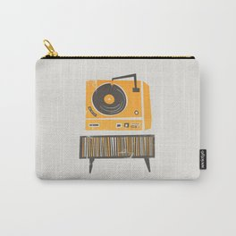Vinyl Deck Carry-All Pouch
