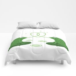 love frogs edition  Comforters