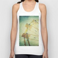 glee Tank Tops featuring Ferris Wheel by Honey Malek