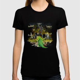 Godzilla vs King Kong  in tokyo ? T-shirt