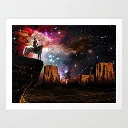 Native American Universe Art Print