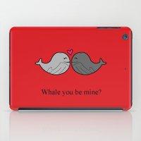 valentine iPad Cases featuring Valentine by Rachel Goodson Quinn