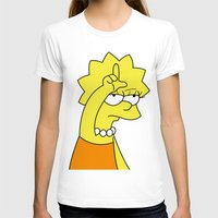 simpson T-shirts featuring Lisa Simpson Loser by hunnydoll