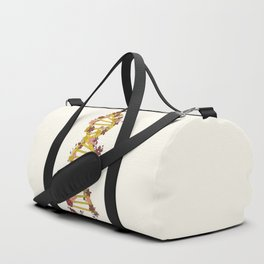 Floral DNA Duffle Bag