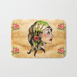 Gypsy Woman Bath Mat
