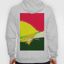 Aurora Over The Forest Hoody
