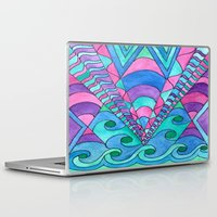 gatsby Laptop & iPad Skins featuring Gatsby Inspired by Rosie Brown