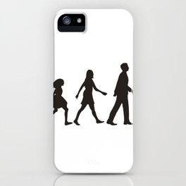 Kind zu Jesus iPhone Case