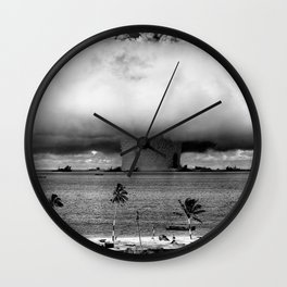 Operation Crossroads: Baker Explosion Wall Clock