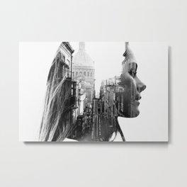 Lina Portrait Metal Print